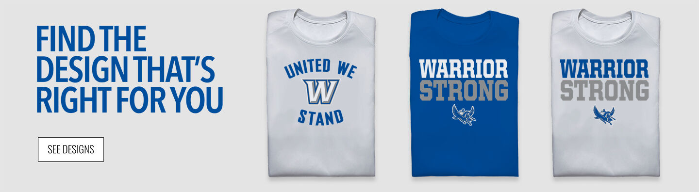 Warren Warriors Find Your Design Banner