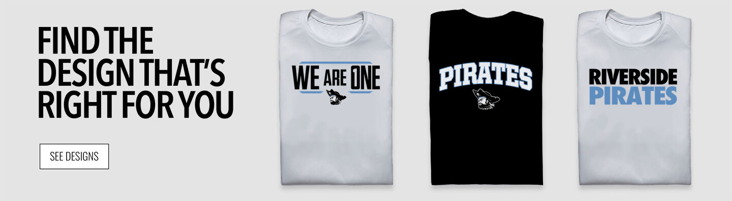 RIVERSIDE PIRATES The Official Online Store Find Your Design Banner