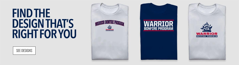 Warrior Bonfire Program The Official Online Store Find Your Design Banner