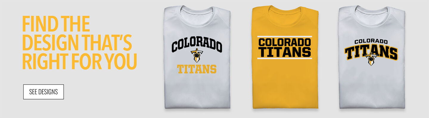 Colorado Titans The Official Online Store Find Your Design Banner