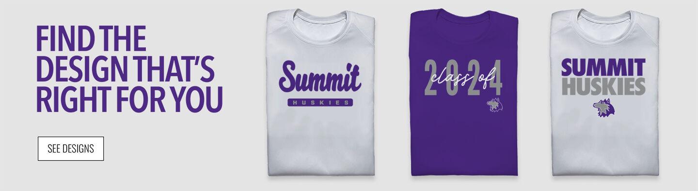 Summit Huskies Find Your Design Banner