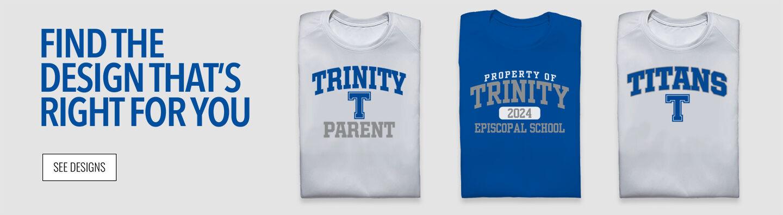 Trinity Episcopal School Titans Online Store Find Your Design Banner