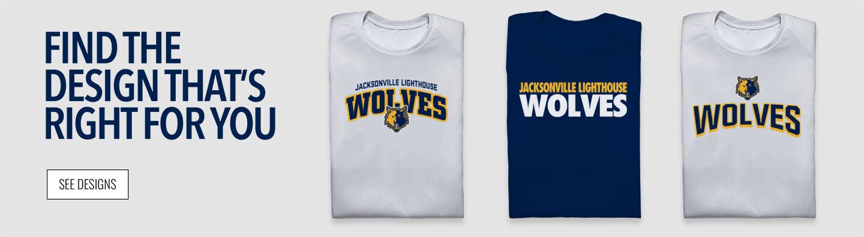 Jacksonville Wolves Find Your Design Banner