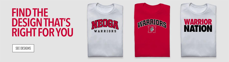 Neoga Warriors Find Your Design Banner