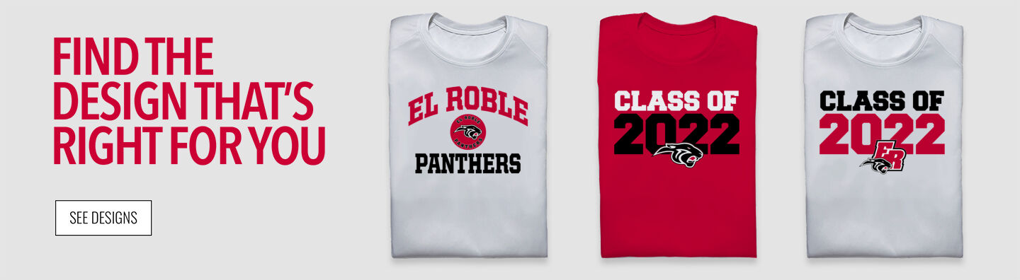 El Roble Panthers Find Your Design Banner