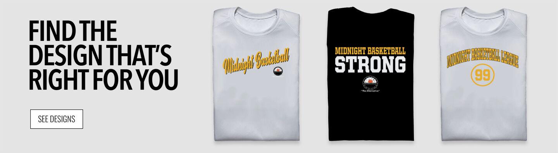Midnight Basketball League Midnight Basketball Find Your Design Banner
