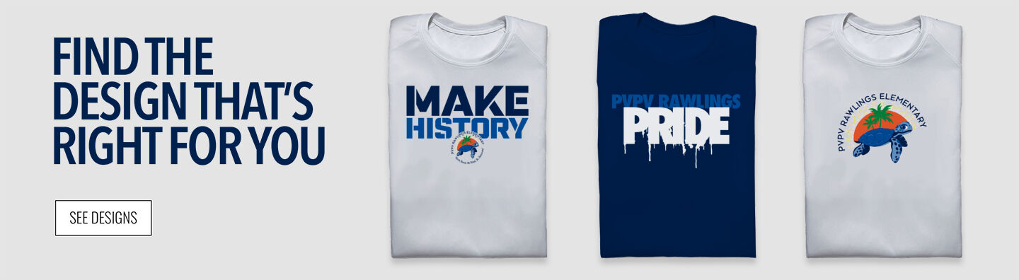 PVPV Rawlings  Elementary School Find Your Design Banner