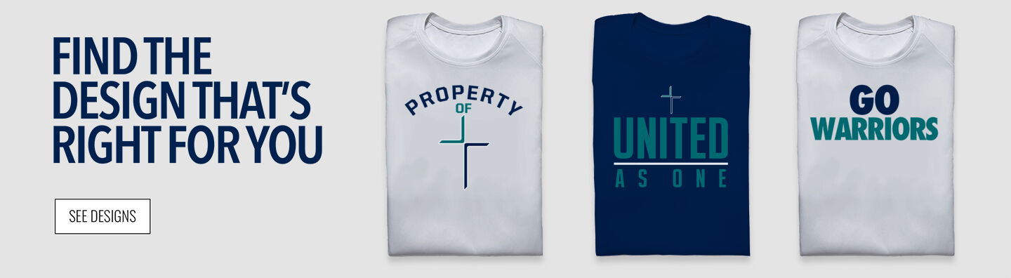 Crosspoint Christian  Warriors Find Your Design Banner
