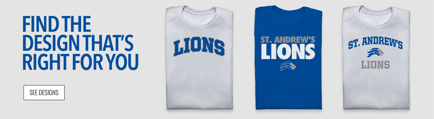 St. Andrew's  Lions Find Your Design Banner