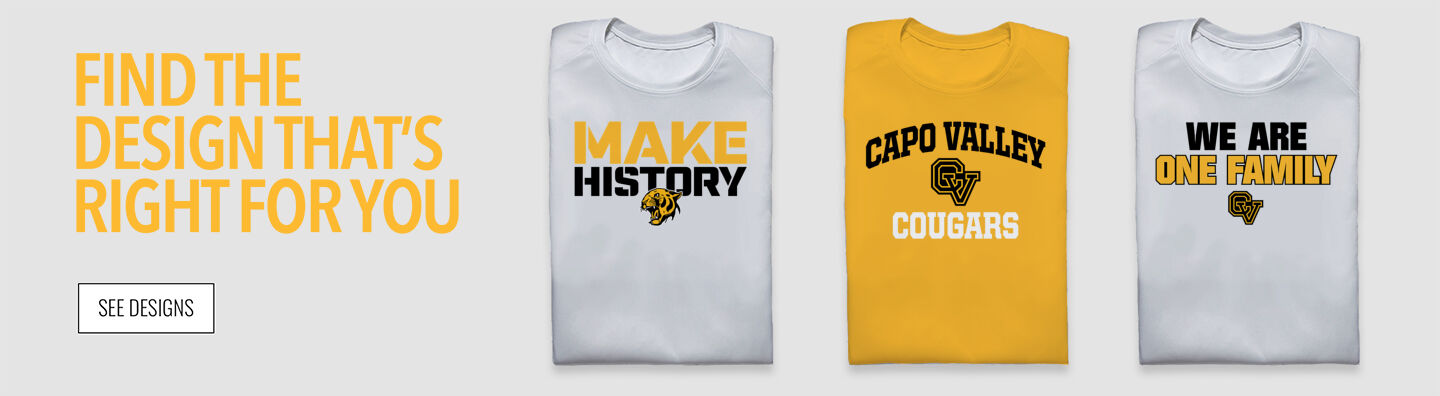 Capo Valley Cougars Find Your Design Banner