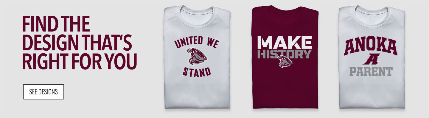 Anoka Tornadoes Find Your Design Banner