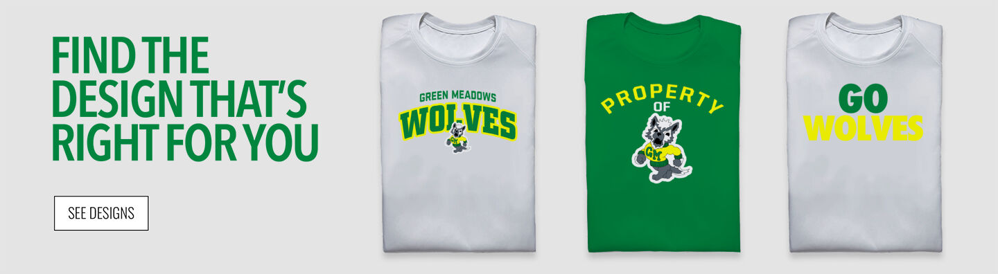 Green Meadows Wolves Find Your Design Banner