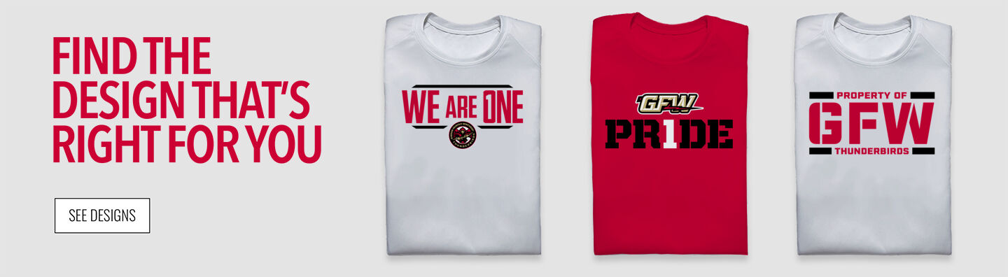 GFW Thunderbirds The Official Online Store Find Your Design Banner
