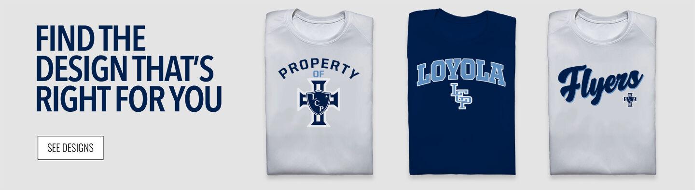 Loyola Flyers Find Your Design Banner