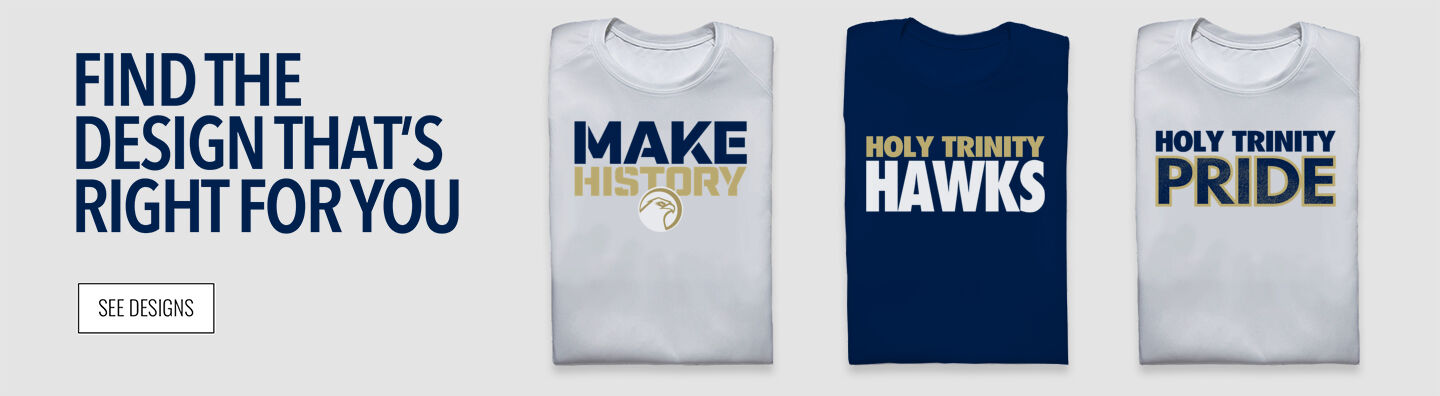 Holy Trinity Hawks Find Your Design Banner