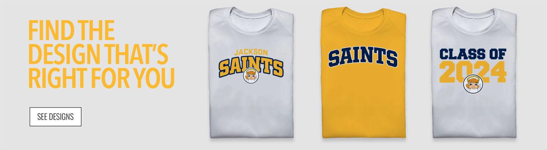 Jackson Saints Find Your Design Banner