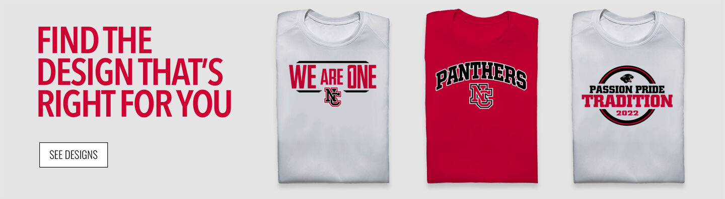 North Central Panthers Find Your Design Banner