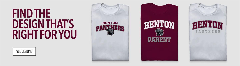 Benton High School Panthers Online Store Find Your Design Banner