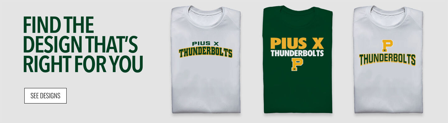 Pius X Thunderbolts Find Your Design Banner