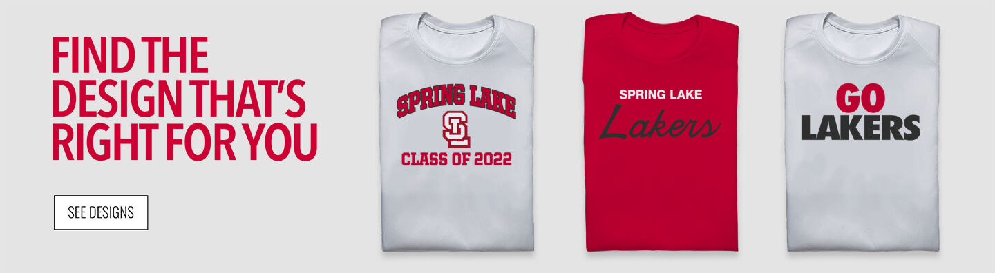 Spring Lake Lakers Find Your Design Banner