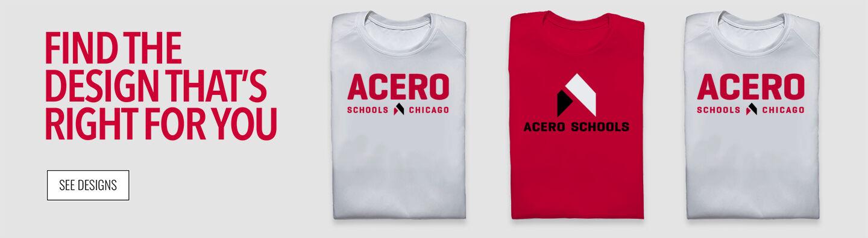 Acero Acero Find Your Design Banner