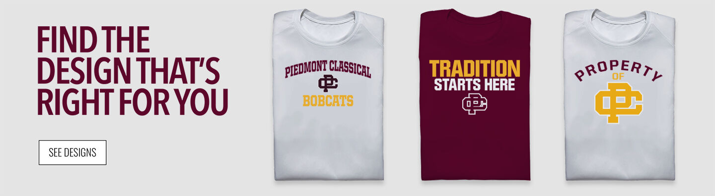 Piedmont Classical Bobcats Find Your Design Banner
