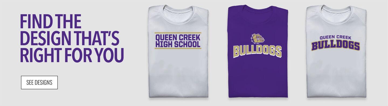 Queen Creek Bulldogs Find Your Design Banner