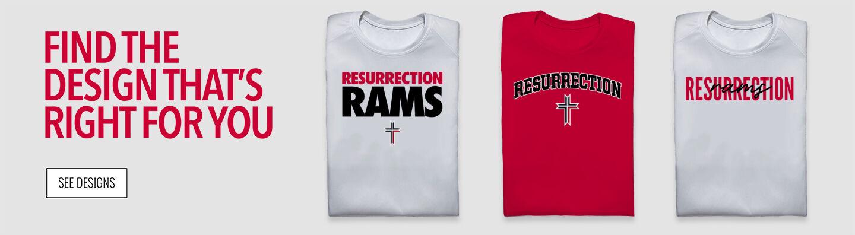 Resurrection Rams Find Your Design Banner