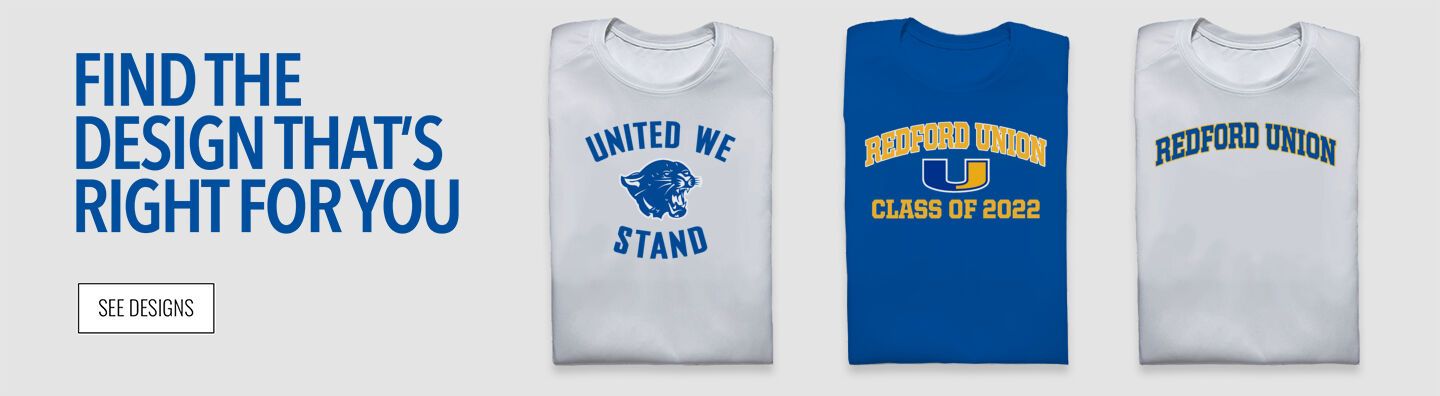 Redford Union Panthers Find Your Design Banner