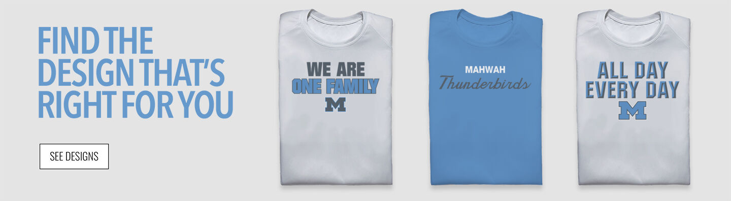 Mahwah Thunderbirds Find Your Design Banner