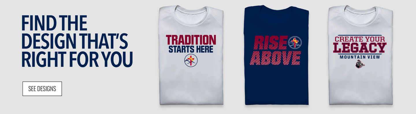 Mountain View Conquerors Find Your Design Banner