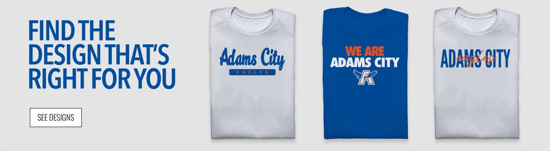 Adams City Eagles Find Your Design Banner