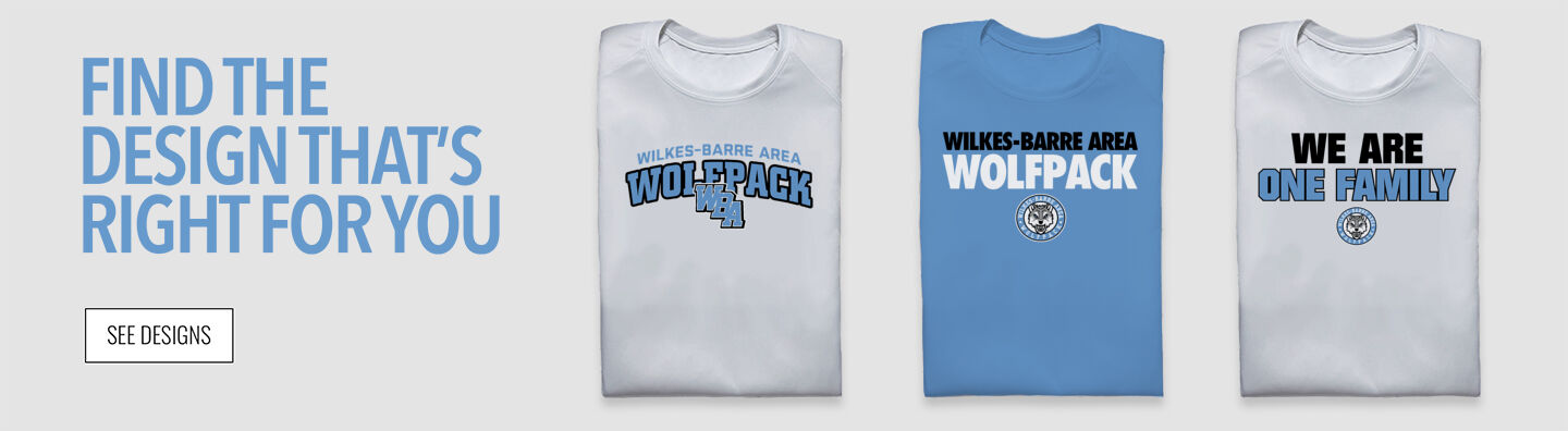 Wilkes-Barre Area Wolfpack Find Your Design Banner