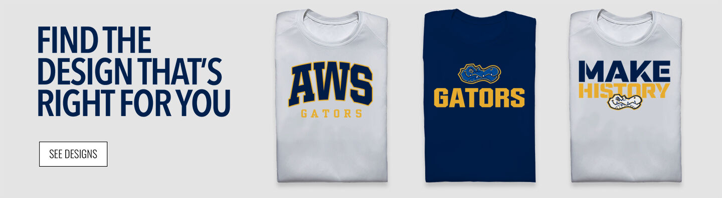 AWS Gators Find Your Design Banner