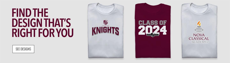Nova Knights Find Your Design Banner