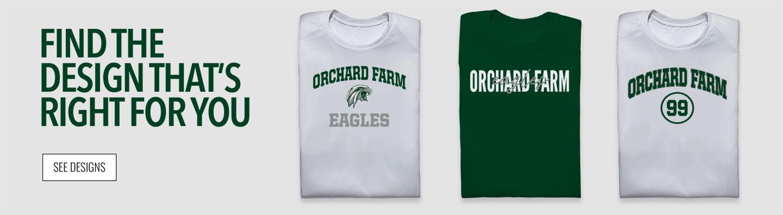 Orchard Farm Eagles Find Your Design Banner