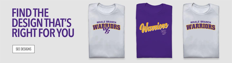 Whale Branch Warriors Find Your Design Banner