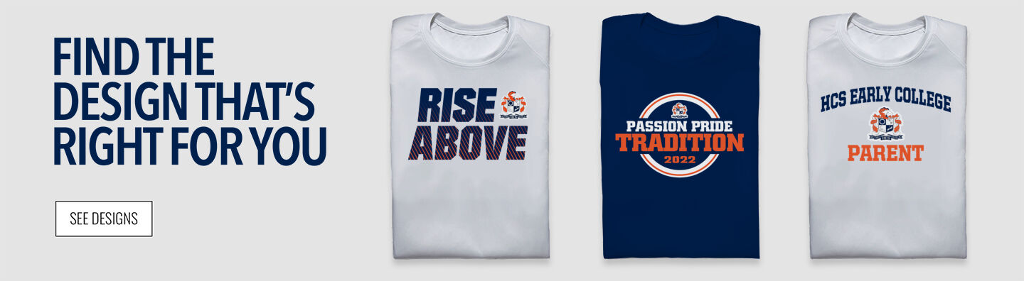 HCS Early College Trailblazers Find Your Design Banner