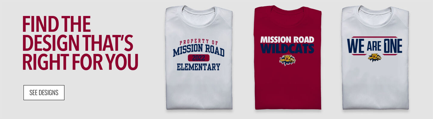 Mission Road Wildcats Find Your Design Banner