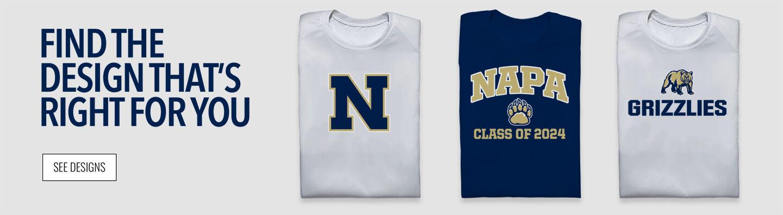 Napa Grizzlies Find Your Design Banner