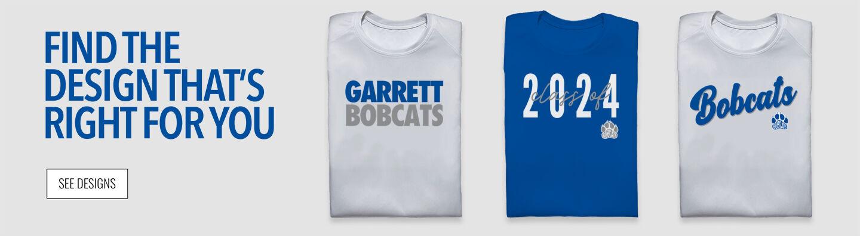 Garrett Bobcats Find Your Design Banner
