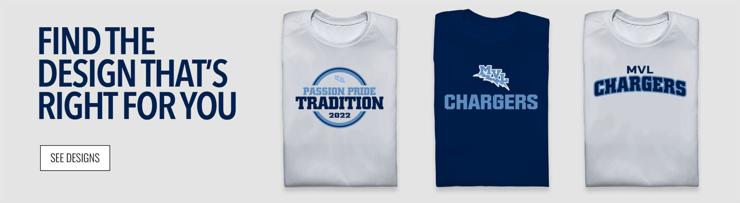 MVL Chargers Find Your Design Banner