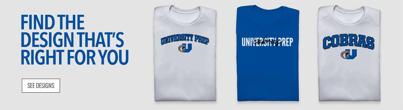 University Prep Cobras Find Your Design Banner
