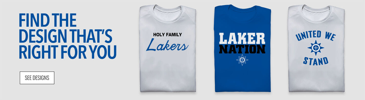 Holy Family Lakers Find Your Design Banner