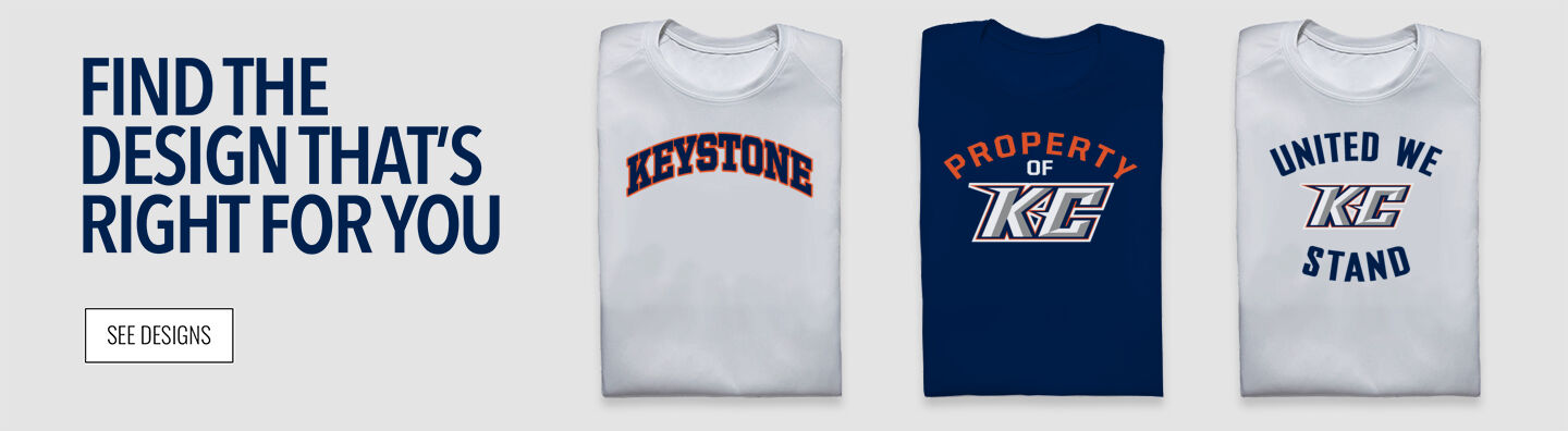 Keystone College The Official Online Store Find Your Design Banner