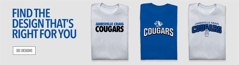 Janesville Craig Cougars Find Your Design Banner