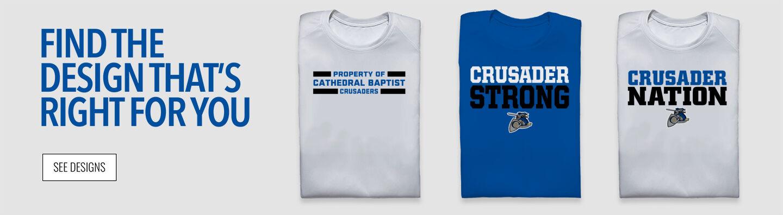 Cathedral Baptist Crusaders Find Your Design Banner