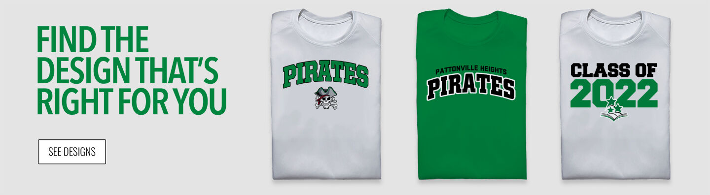 Pattonville Heights Middle School Pirates Find Your Design Banner