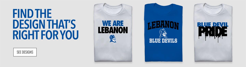 Lebanon  Blue Devils Find Your Design Banner
