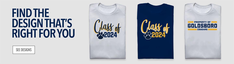Goldsboro Cougars Find Your Design Banner